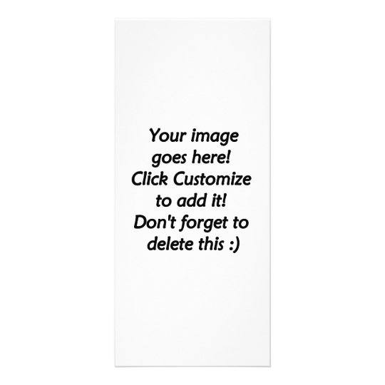 Blank product ready to customize, your own design rack card