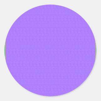 Blank Purple Texture Template DIY add text image Classic Round Sticker
