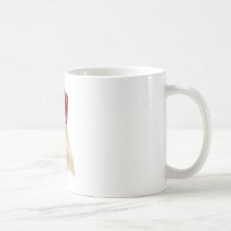 Blank Red Wax Seal and Ribbons Mug