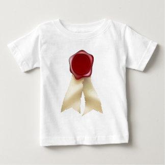 Blank Red Wax Seal and Ribbons Tshirts