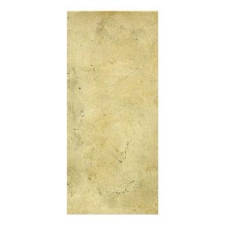 Blank Rustic Dirty Vintage Aged Paper Rack Card