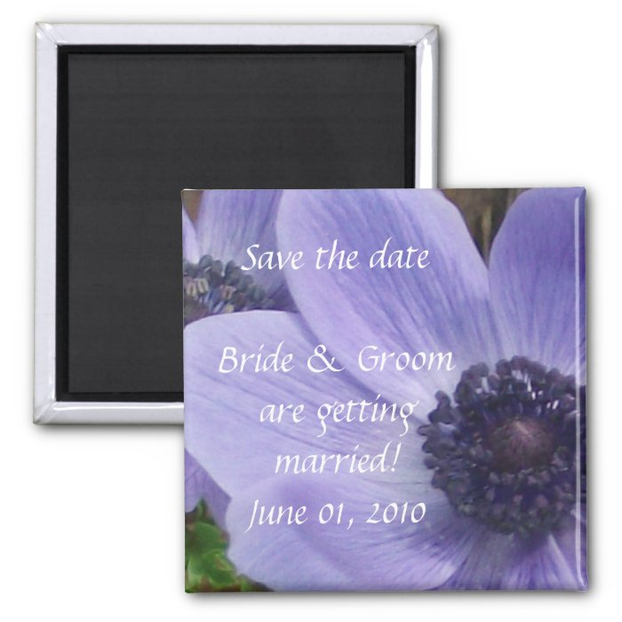 Blank Save the Date 2 2 Inch Square Magnet