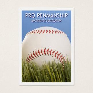 Blank Signature Card for baseball autographs!
