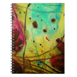 blank spiral notebook 'Abstract Series: No. 2'