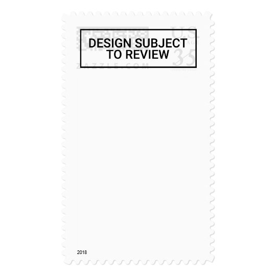 Blank Stamp Vertical Postcard Rate Customize It