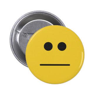 Blank Stare Pinback Button