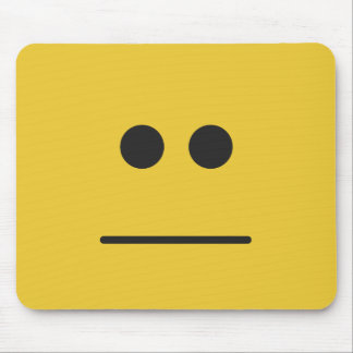 Blank Stare Mouse Pad