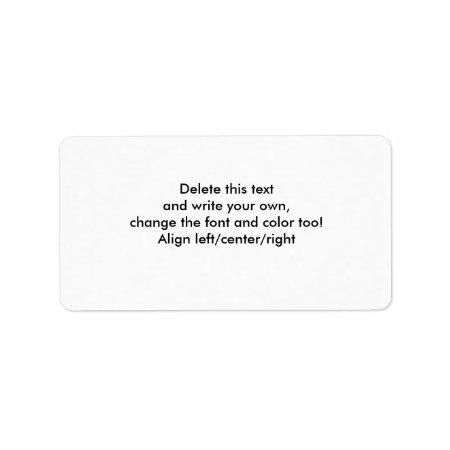 Blank Sticky Labels Blank Sticky Labels-customize