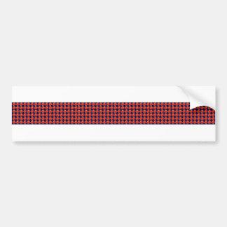 BlanK STRIPE Template DIY add TXT IMAGE EVENT name Car Bumper Sticker