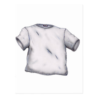 Blank T-Shirt Postcard