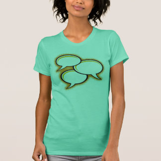 Blank Talk Bubble pop-art Tshirt