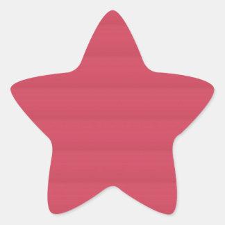 BLANK Template DIY easy add TEXT PHOTO jpg image Star Sticker