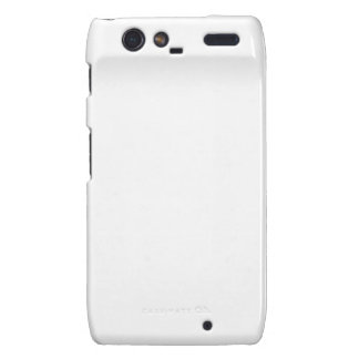 Blank Template DIY easy customize add Text Photo Motorola Droid RAZR Covers