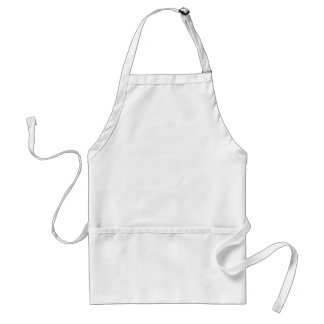 Blank Template to Design My Own Gift You Add Text Adult Apron