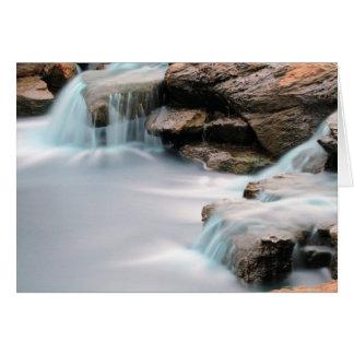 Blank Texas Sugar Land Park Silky Waterfall Card