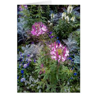 Blank Thank You Cards - Flower Garden