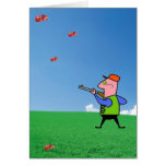 Blank Trapshooter Card