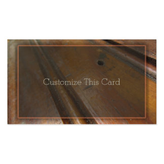Blank Vintage Distressed Rustic Wood Boards Double-Sided Standard Business Cards (Pack Of 100)