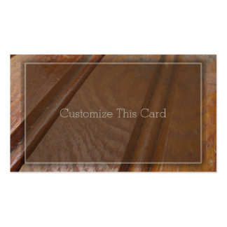 Blank Vintage Salvaged Rustic Wooden Boards Double-Sided Standard Business Cards (Pack Of 100)