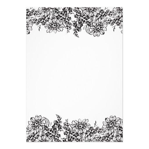 elegant blank wedding invitation templates