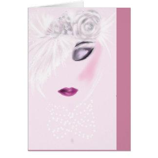 Blank Wedding Note Card