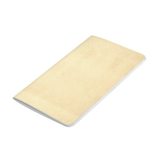 Blank Yellowed Antique Paper Journal
