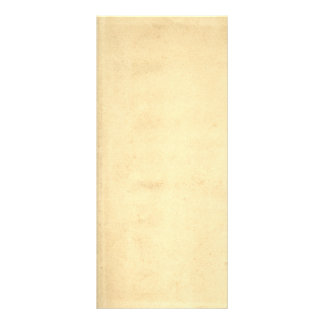 Blank Yellowed Antique Paper Rack Card