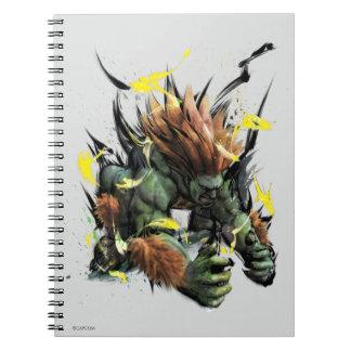 Blanka Charge Note Book