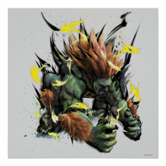 Blanka Charge Posters