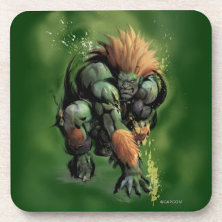 Blanka Crouch Drink Coasters