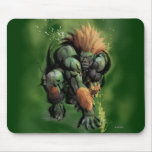 Blanka Crouch Mouse Pads