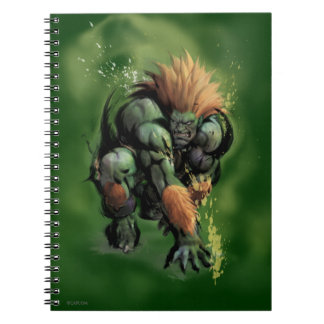 Blanka Crouch Spiral Notebook