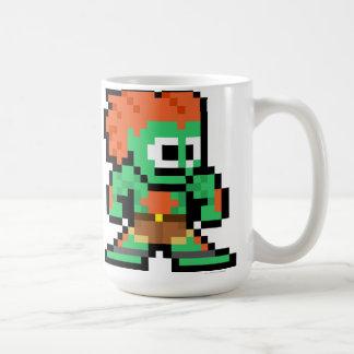 Blanka de 8 bits taza de café