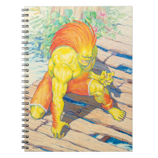 Blanka on Bridge 2 Notebook