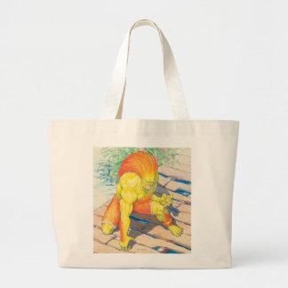 Blanka on Bridge Canvas Bags