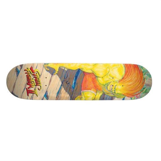 Blanka on Bridge Skateboard