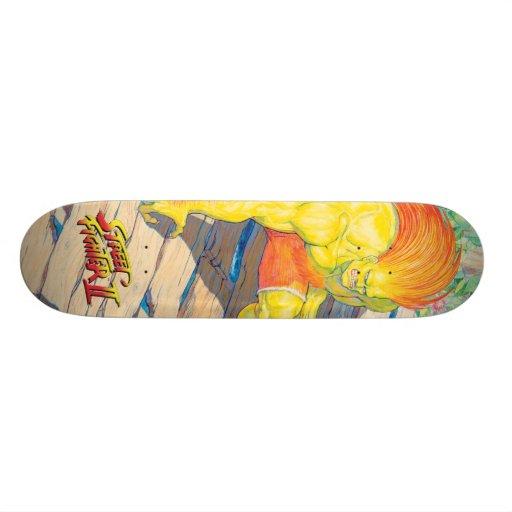 Blanka on Bridge Skateboard Deck