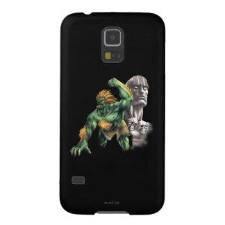 Blanka Vs. Dhalsim Galaxy S5 Cover