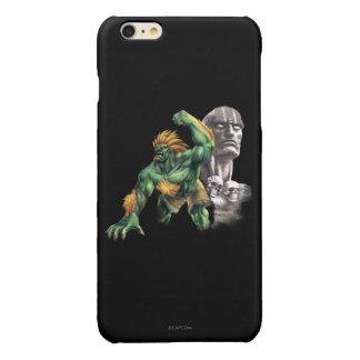 Blanka Vs. Dhalsim Glossy iPhone 6 Plus Case