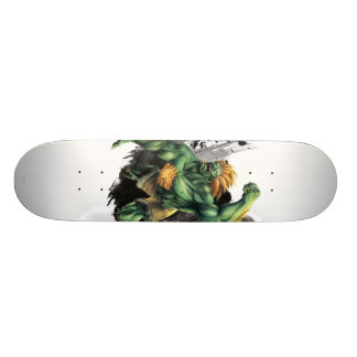 Blanka Vs. Dhalsim Skateboard Deck