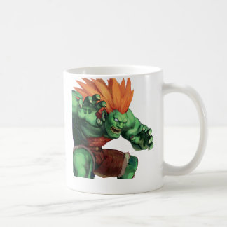 Blanka With Hands Raised Coffee Mug