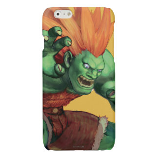 Blanka With Hands Raised Glossy iPhone 6 Case