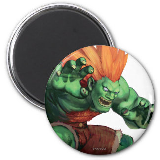 Blanka With Hands Raised Magnet