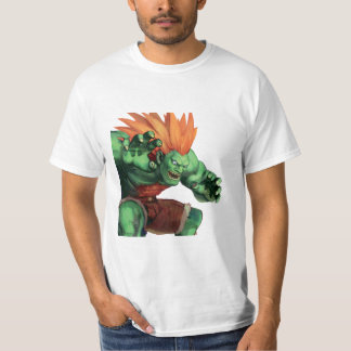 Blanka With Hands Raised T-Shirt