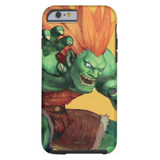 Blanka With Hands Raised Tough iPhone 6 Case