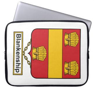 Blankenship Family Crest Laptop Computer Sleeve