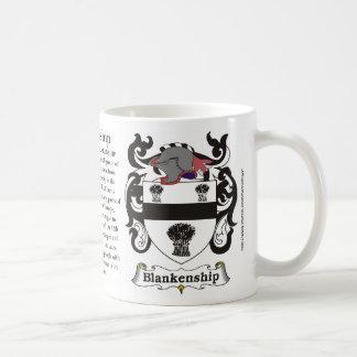 Blankenship Family Crest Mug