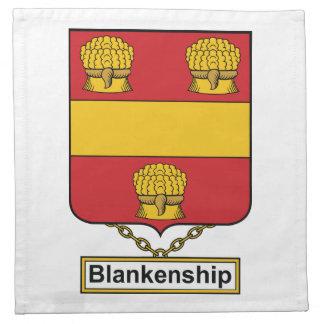 Blankenship Family Crest Napkin