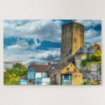 Blankenstein Castle Germany. Jigsaw Puzzle