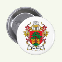 Blankers Family Crest Button